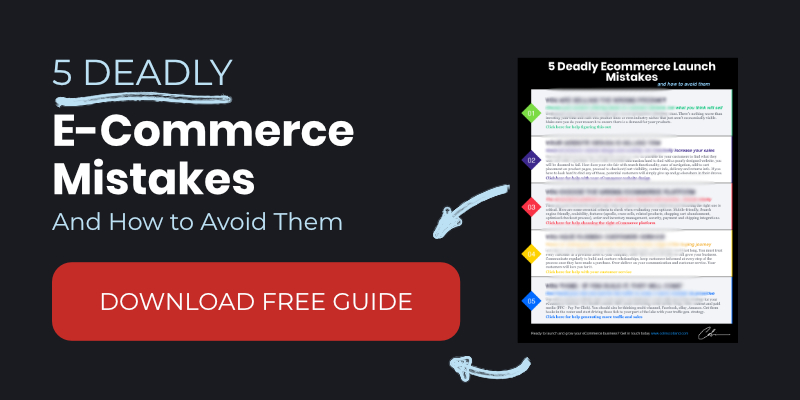 Deadly E-commerce Mistakes Guide