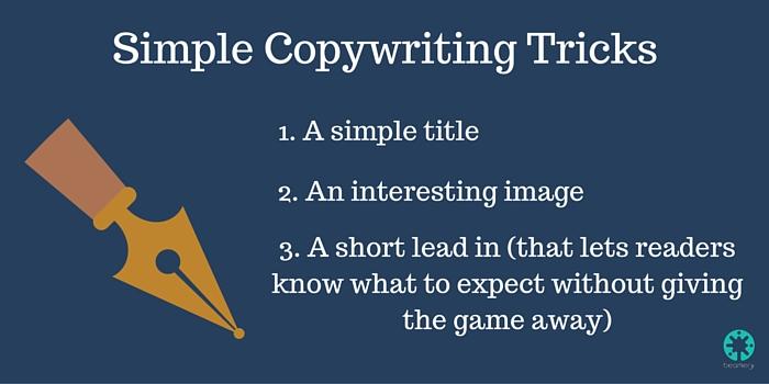 Simple Copywriting Tricks